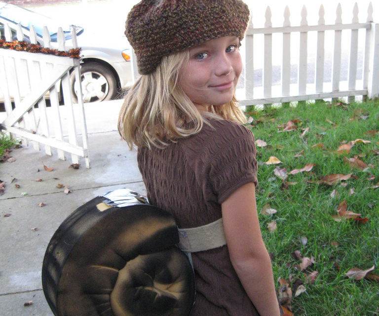 Award-Winning Crochet Snail Costume By Dr. Penny Richards