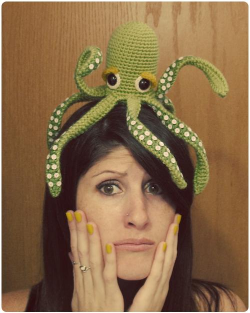 Crochet Octopus Octo-Ma-Pus