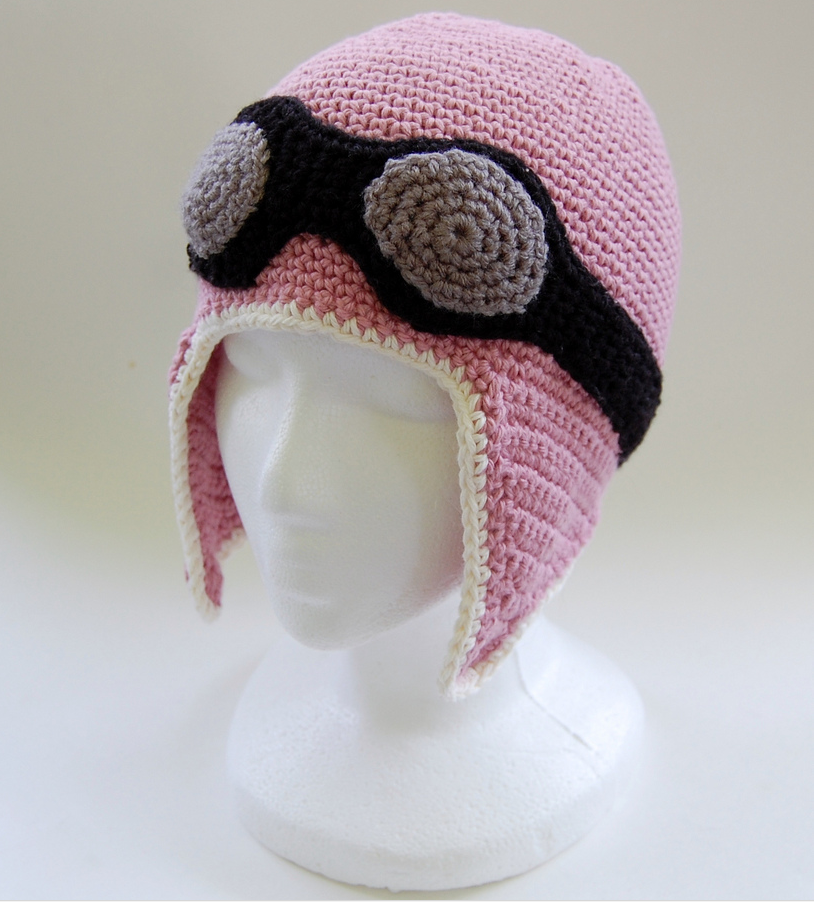 Pink Aviator Hat Get The Crochet Pattern Designed By Knot By Gran
