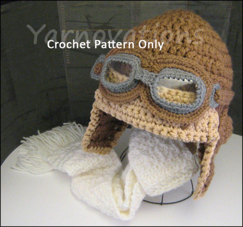Cute Aviator Hat ... Get The Crochet Pattern!