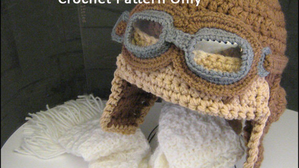 Cute Aviator Hat … Get The Crochet Pattern!