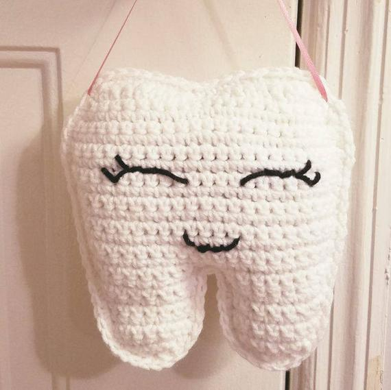 Crochet a Tooth Fairy Pillow - Keep a Tooth Safe Until She Arrives!
