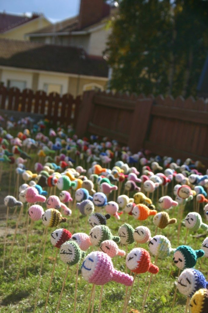 Garden of OTAMA - You've Never Seen So Many Amigurumi ... It's the New Social 'Knitwork'