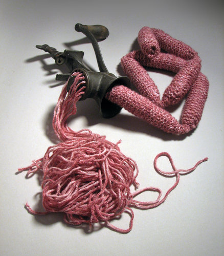 It's What For Dinner - Knitted Meat by Stacey Chinn
