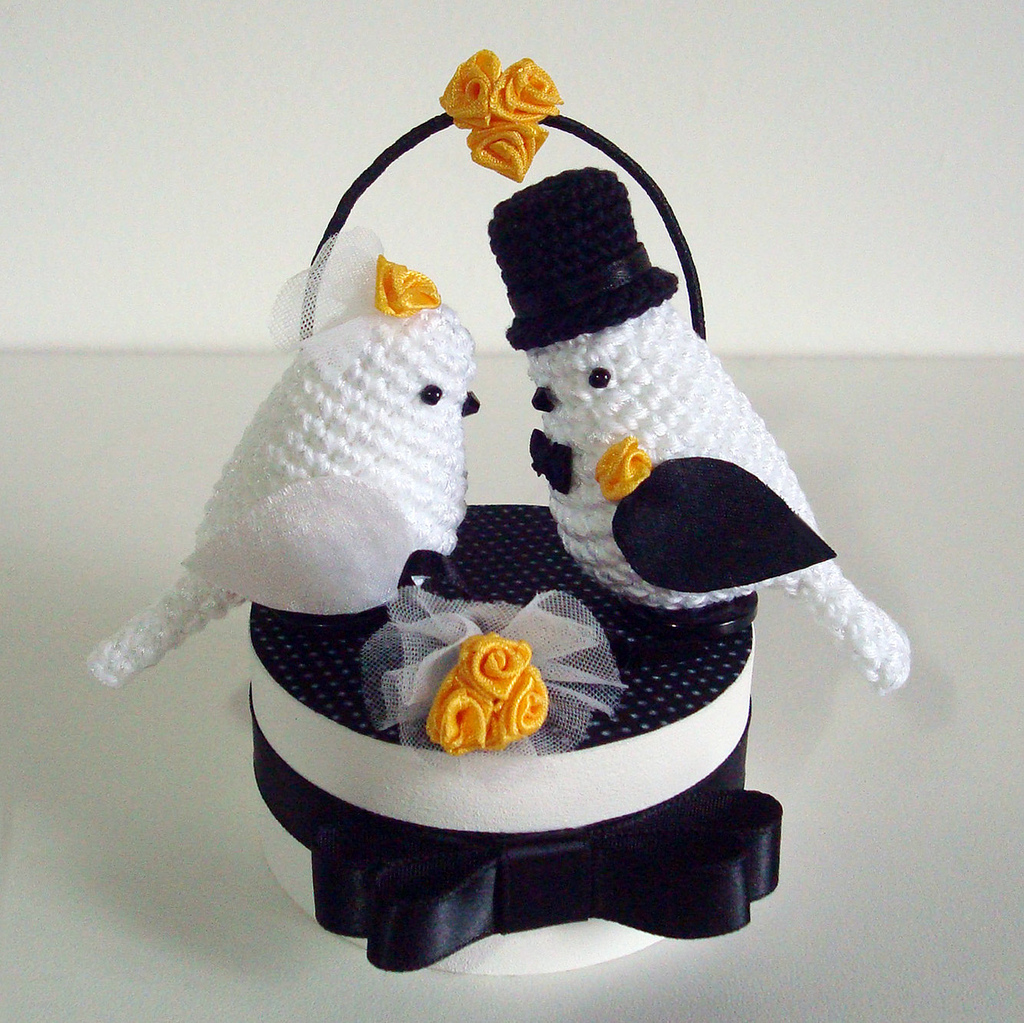 Say 'I Do' With Handmade Wedding Amigurumi!