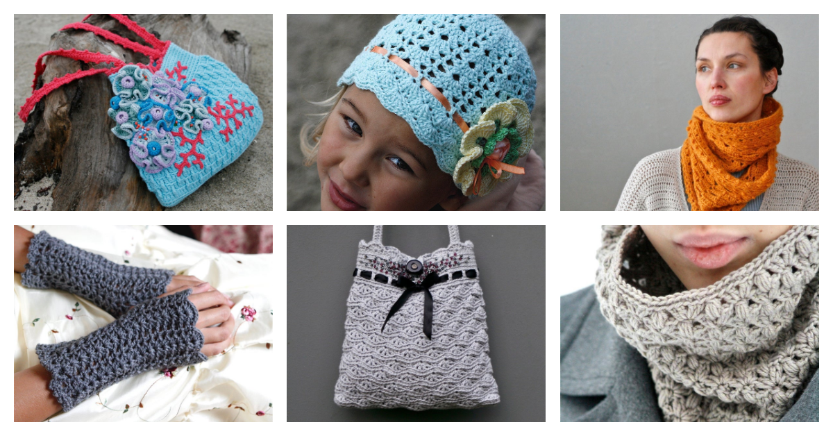 Beautiful Crochet Patterns Collection By Marianne Seiman