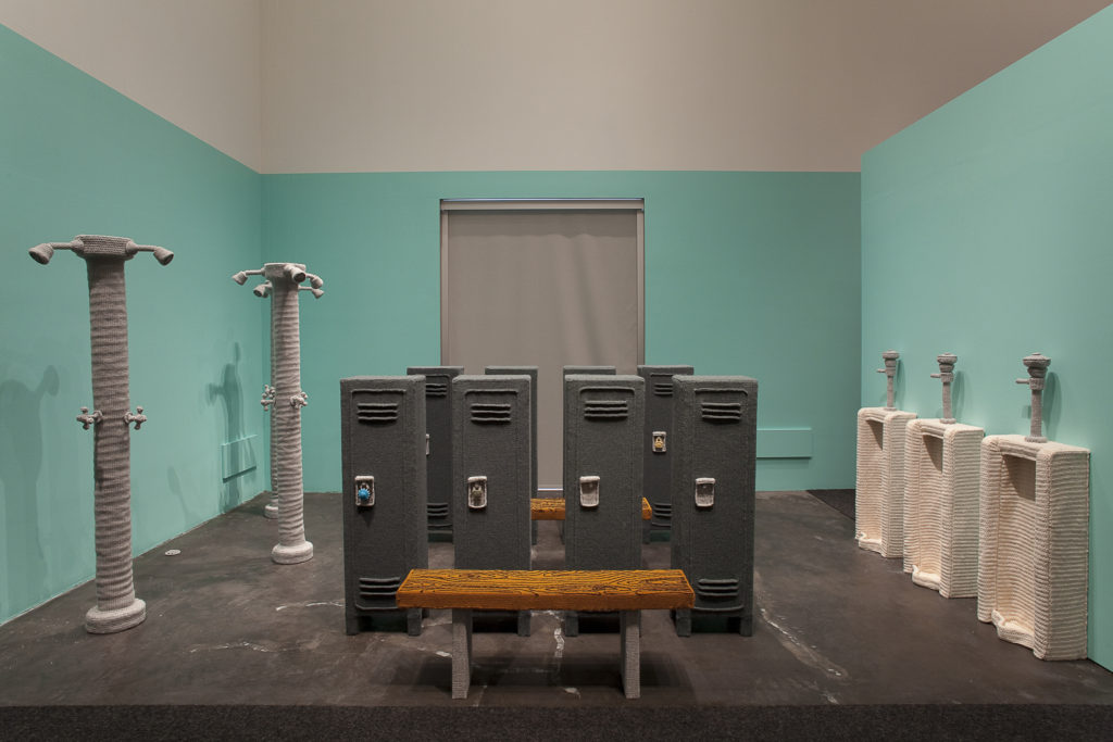 Nathan Vincent's Knit and Crochet 'Locker Room'