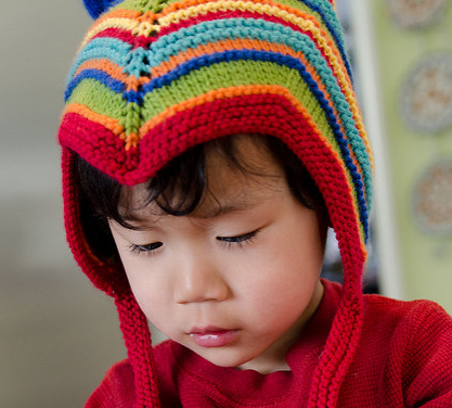 Look At The Hat Mama Knit!