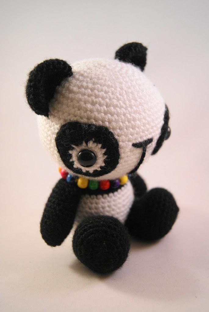 Adorable Panda Amigurumi Crocheted By Pii_Chii