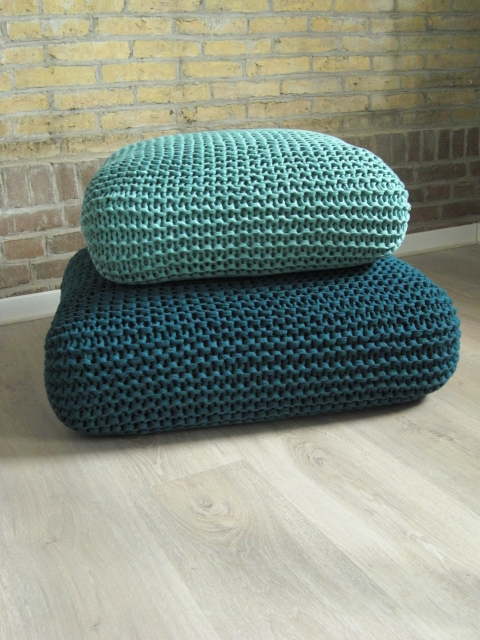These Knit Pillows Prove Simple Is Best!