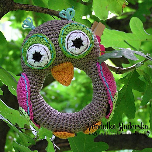 Adorable Owl Rattle – Pattern Now Available!