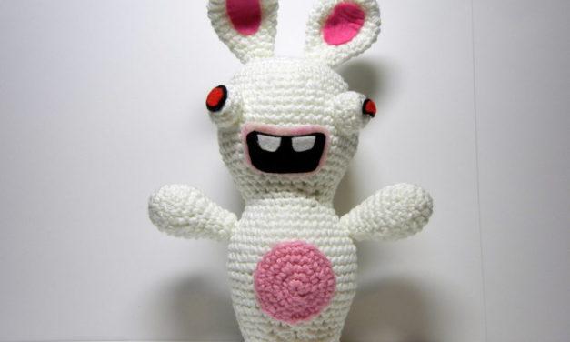 Crochet Rabbid Amigurumi From Rayman Raving Rabbids