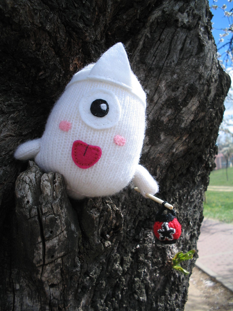 Meet Obake, This Japanese Ghost is Knit!