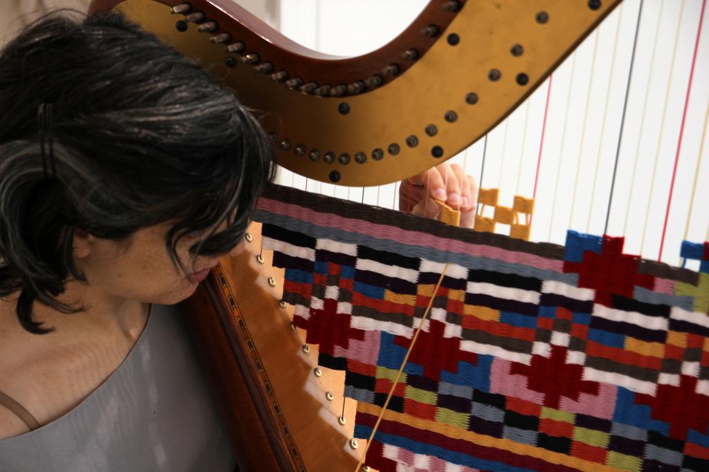 Jamie Isenstein's Rug Harp