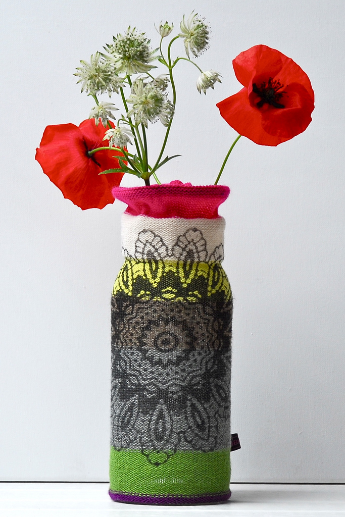 Gorgeous Vase Cozy Designed By The Talented Erica Hogenbirk