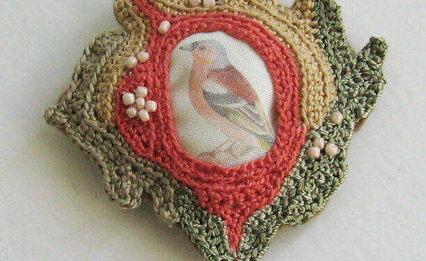 Beautiful Bird Pin – It's Crocheted!