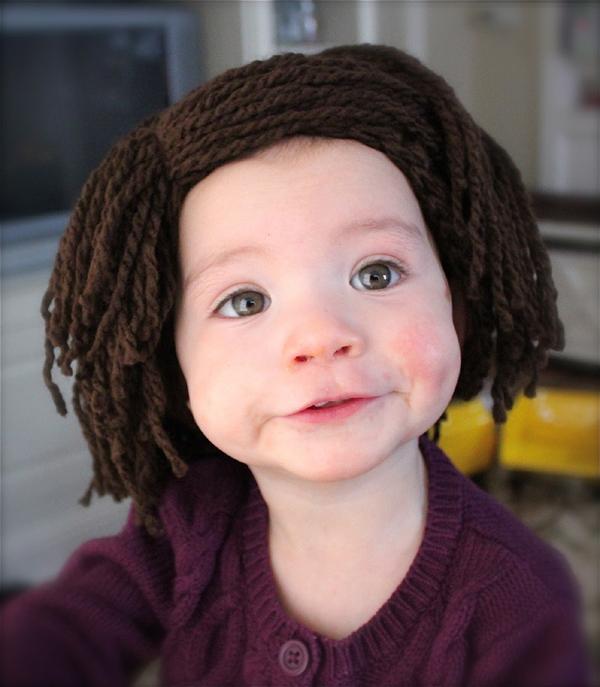 Crochet a Baldy Baby Hat FREE Pattern