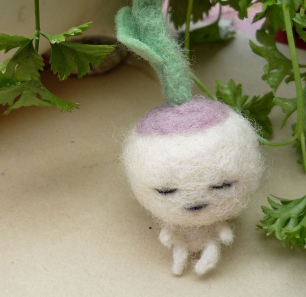 Needlefelt Turnip Baby