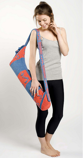 Pattern Now Available! Uma's Om Yoga Bag