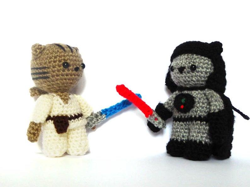 Get the Star Wars amigurumi pattern via Etsy