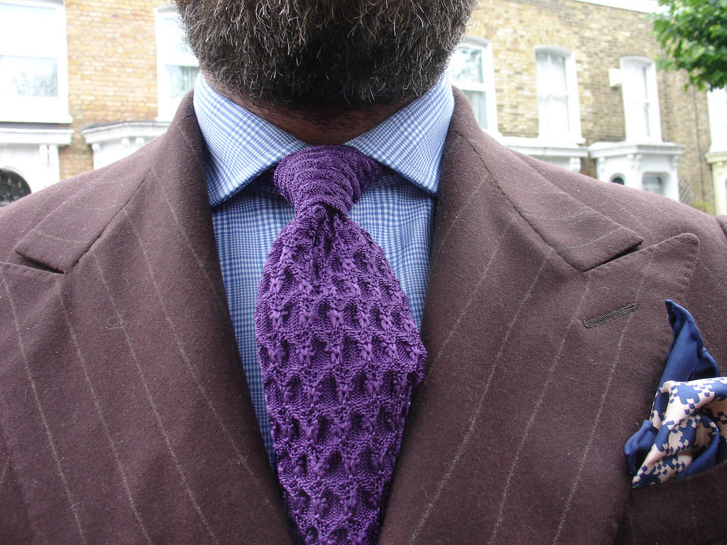 This Tom Ford Silk Knit Tie is Highly Desirable