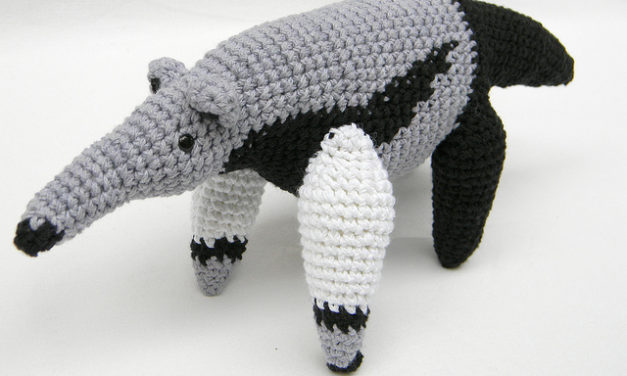 Anteaters, bats, chameleons and more! The amazing crochet creations of pica-pau …