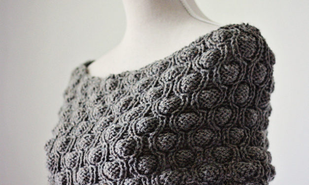 Knit a Gorgeous Cocoon Snood For Fall