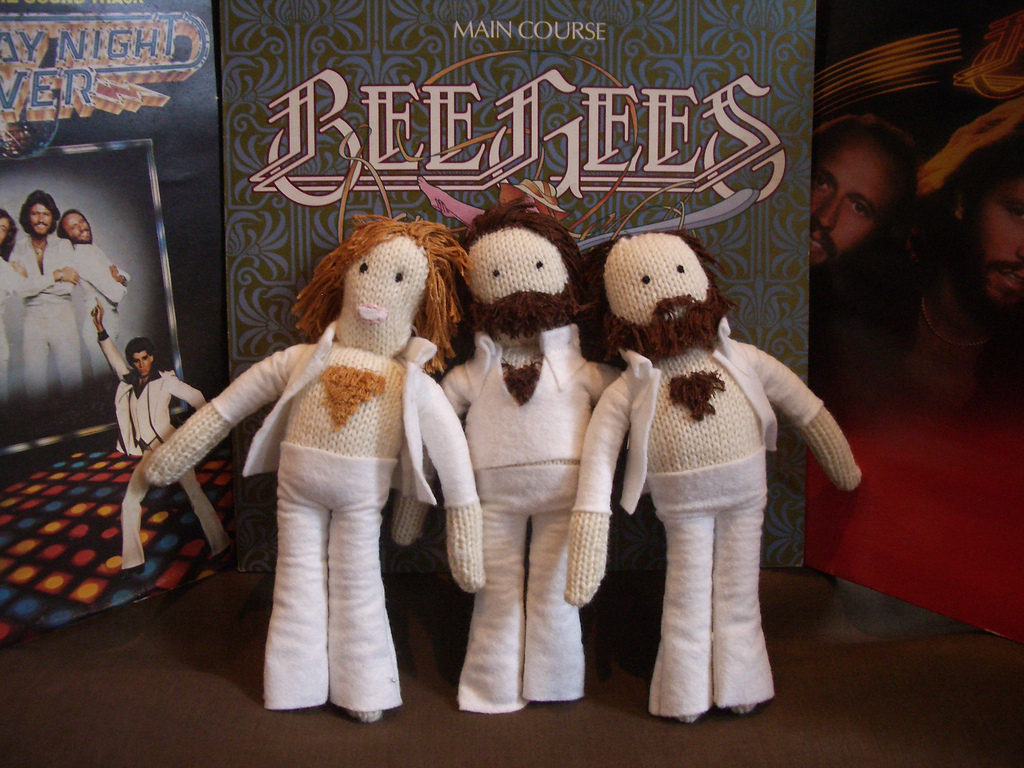 She Knit The Bee Gees - That Chest Hair, Oh My!
