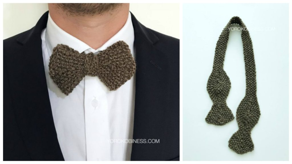 Three Hand Knit Bow Tie Patterns To Get On The Needles Now Knithacker