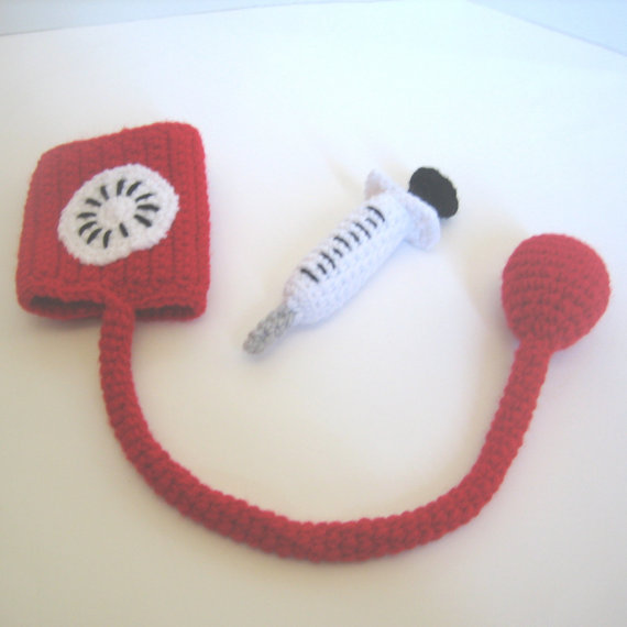 Doctor Beary Bear, Amigurumi Crochet Pattern - Sayjai Amigurumi ... | 570x570