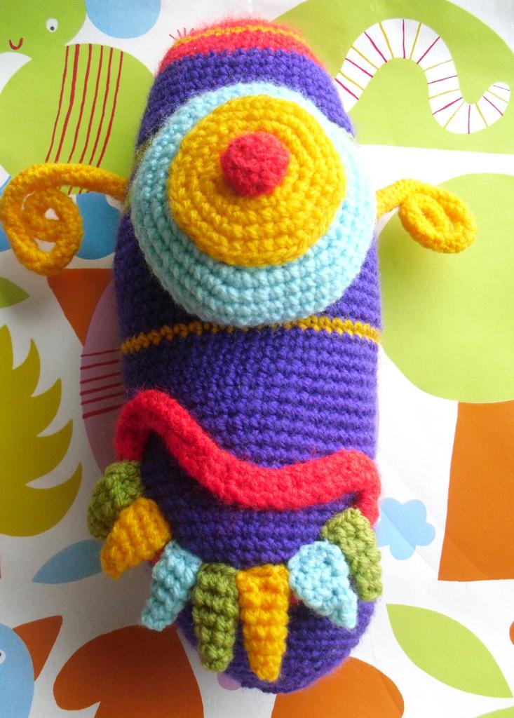Kids Art Into Crochet - Designed By Rachel, Crocheted By Mom