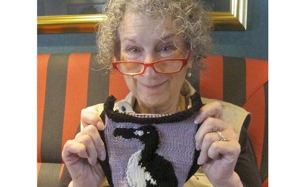 Handmaid's Tale Author Margaret Atwood Knit a Great Auk For the Ghost of Gone Birds Exhibition