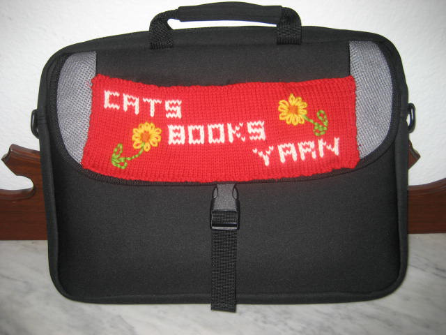 Knit a Cheap and Ingenious Anti-Theft For Your Laptop