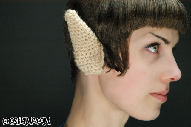 Crochet a Pair of Spock Ears – FREE Pattern!
