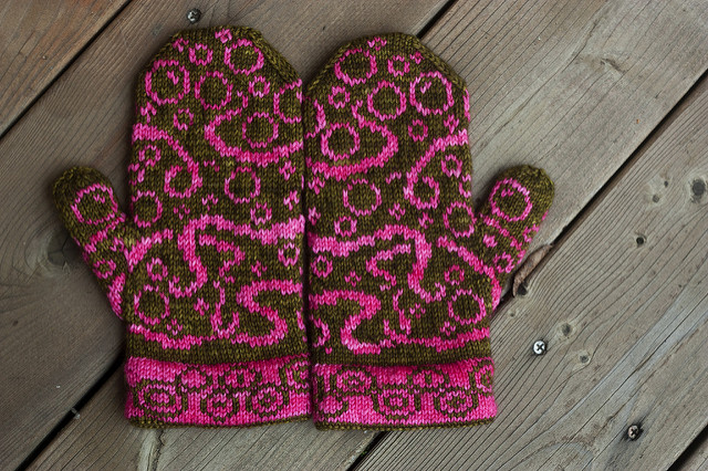 Octopus-Themed Mittens