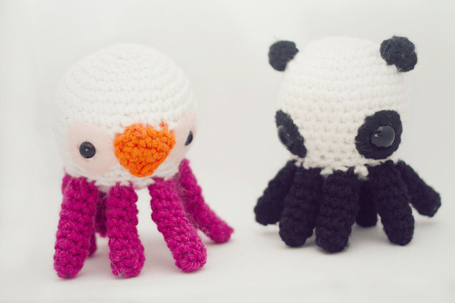 Octopuses? Octopi? Octopodes? Amigurumi For Sure!