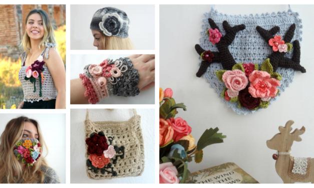 Designer Spotlight: The Best Crochet Rose & Flower Patterns By Maya Kuzman of The Little Treasures