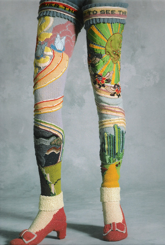 Susanna Lewis OZ Socks - Inspired By The Wizard of Oz, Circa 1978
