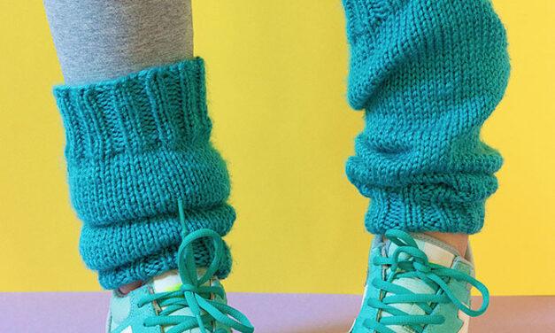 Classic Retro! Knit a Pair of Vintage Legwarmers …FREE Pattern!