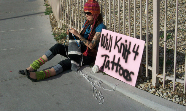 She Knits for Tattoos, How About You?