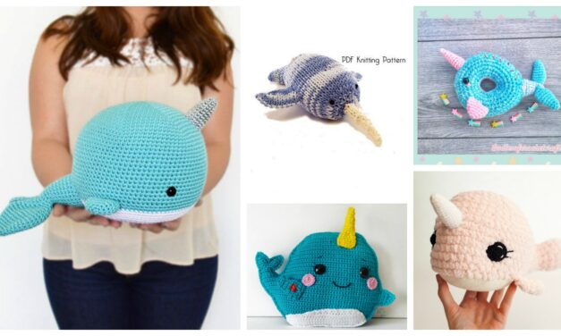 Nifty Narwhal Amigurumi – Such Big Eyes You Have! 10 Fun Patterns To Knit and Crochet …