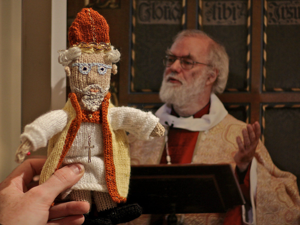 Knit Your Own Archbishop Rowan Williams - Such A Great Likeness!