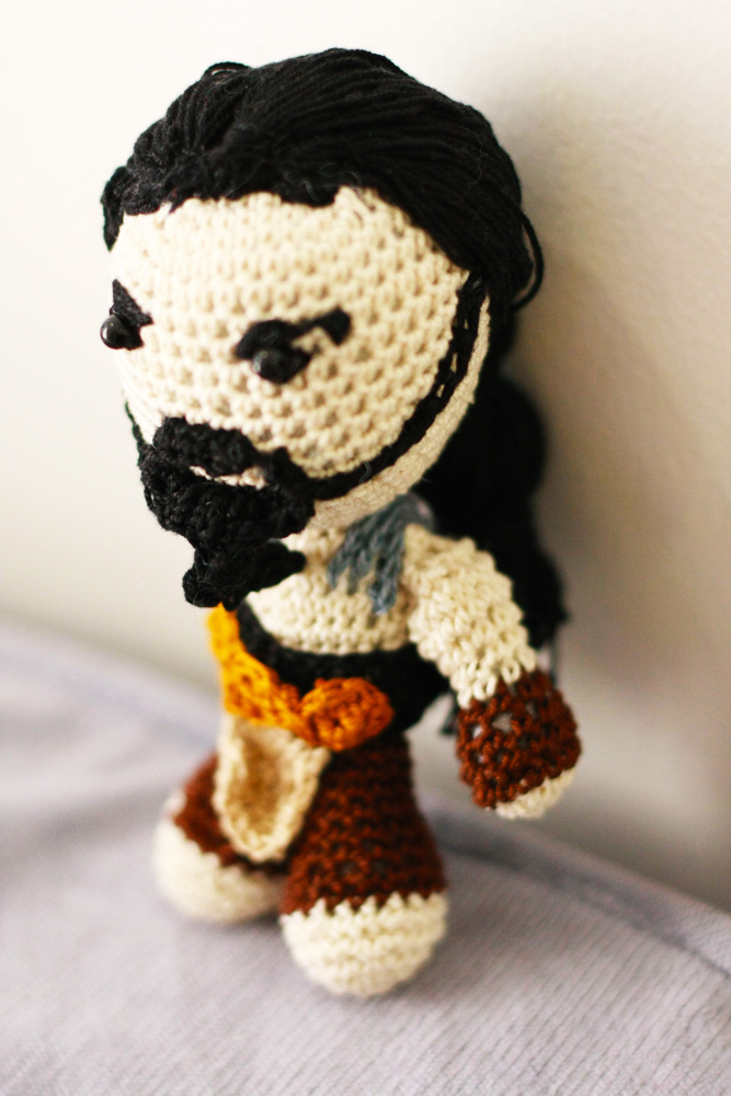 Game of Thrones: Crochet Khal Drogo Amigurumi