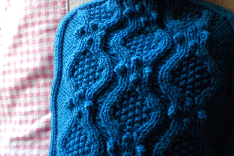 As Beautiful As a Hot Water Bottle Cozy Can Be — Plus a FREE Pattern!