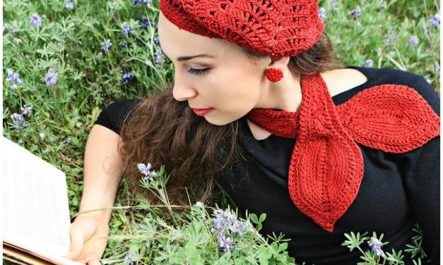 Tunisian Keyhole Cravat Pattern By Jennifer Hansen aka StitchDiva