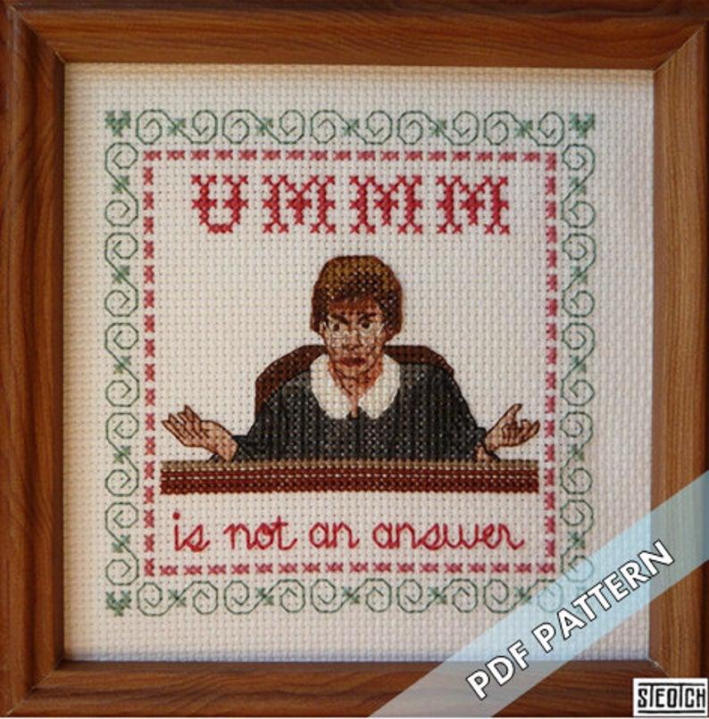 Get the Cross-Stitch Pattern by Steotch via Etsy