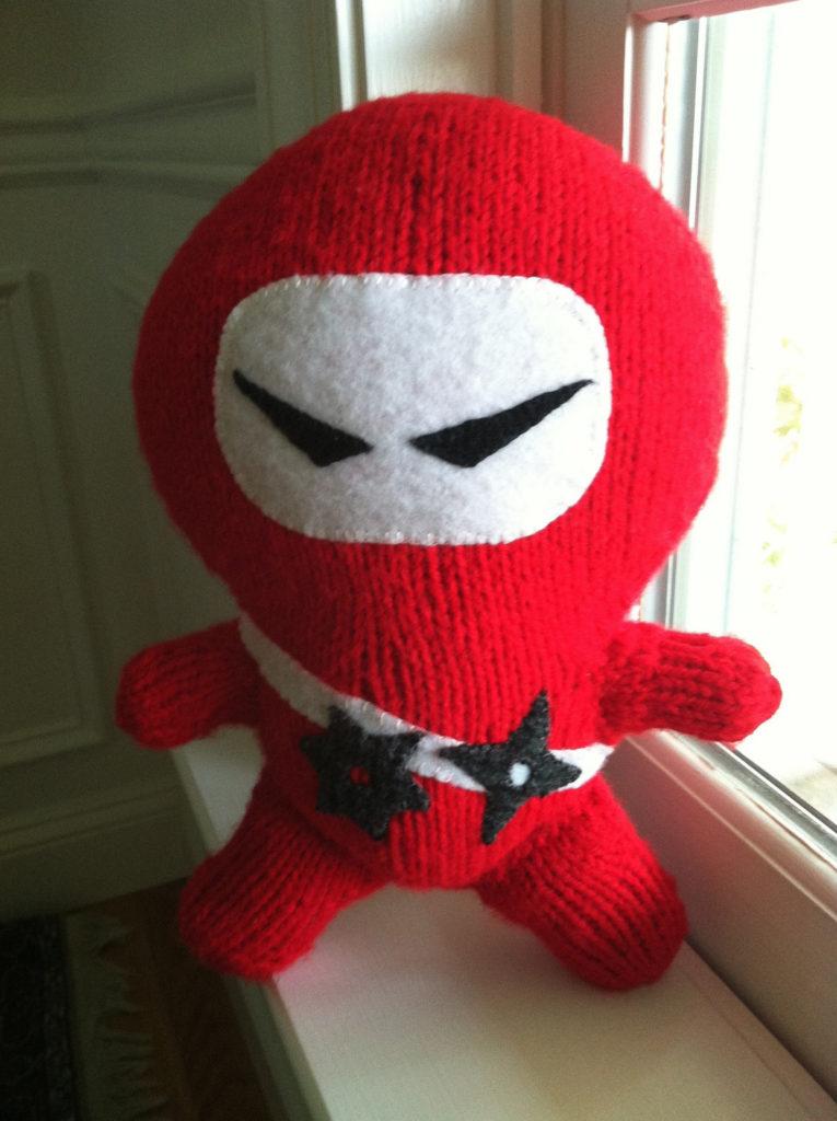 knitted ninja!