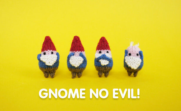'Gnome' No Evil Amigurumi … Get The Pattern!
