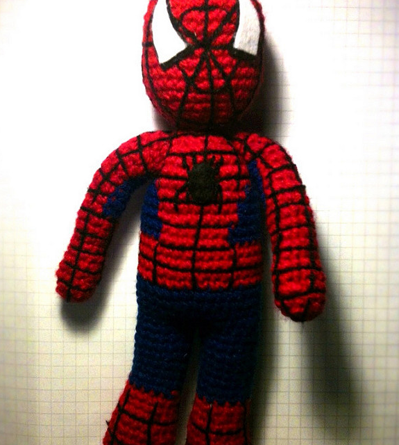 She Calls Her Amigurumi Hombre Araña, You Know Him As Spider-Man