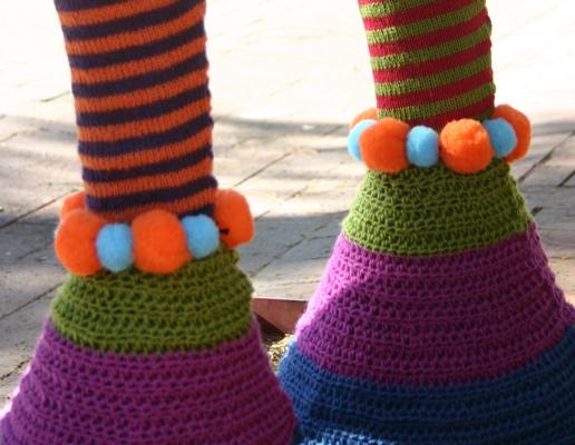 This Yarn Bomb Ain't Horsin' Around!